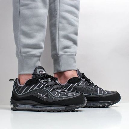 air max 98 black and grey