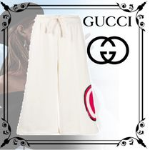 GUCCI Casual Style Plain Medium Culottes & Gaucho Pants