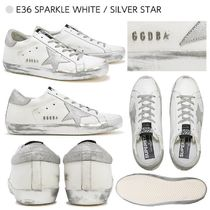 Golden Goose Casual Style Leather Low-Top Sneakers