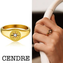 CENDRE Star Casual Style Unisex Rings