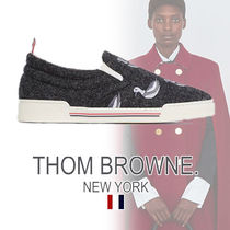 THOM BROWNE Casual Style Plain Slip-On Shoes