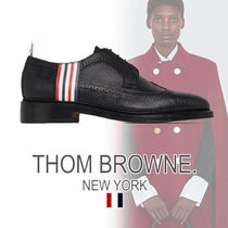 THOM BROWNE Loafers Street Style Plain Leather Loafers & Slip-ons