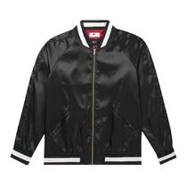 HUF Short Street Style Collaboration Varsity Jackets