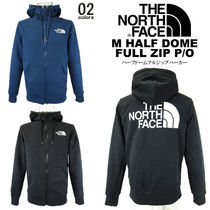 THE NORTH FACE Unisex Sweat Blended Fabrics Street Style Long Sleeves