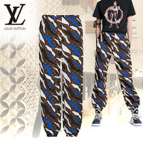 Louis Vuitton MONOGRAM Printed Pants Camouflage Monogram Patterned Pants