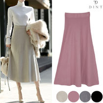 DINT Street Style Collaboration Plain Long Office Style