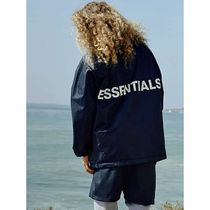 FEAR OF GOD ESSENTIALS Unisex Street Style Coach Jackets Special Edition