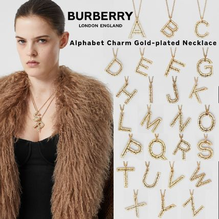 Costume Jewelry Casual Style Unisex Initial Party Style