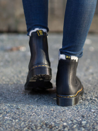 Street Style Logo Boots Boots