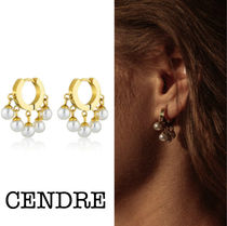 CENDRE Casual Style Handmade Party Style Elegant Style Earrings