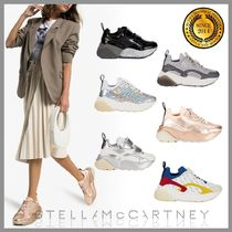 Stella McCartney Platform Round Toe Casual Style Platform & Wedge Sneakers
