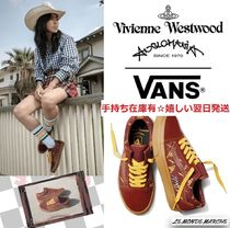 Vivienne Westwood Rubber Sole Casual Style Unisex Suede Street Style