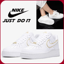 Nike AIR FORCE 1 Unisex Street Style Low-Top Sneakers