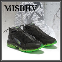 MISBHV Plain Leather Sneakers