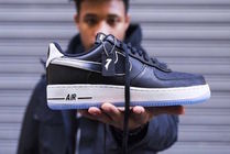 Nike AIR FORCE 1 Street Style Collaboration Logo Sneakers