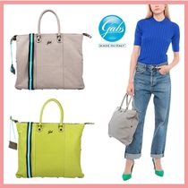 gabs Casual Style 2WAY Plain Office Style Handbags