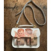GRAFEA Casual Style Leather Shoulder Bags
