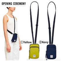 OPENING CEREMONY Casual Style Unisex Street Style Plain Shoulder Bags