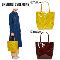 OPENING CEREMONY Casual Style Plain Totes