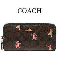 Coach Leather Long Wallets