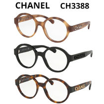 CHANEL Round Eyeglasses