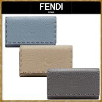 FENDI Unisex Leather Keychains & Bag Charms