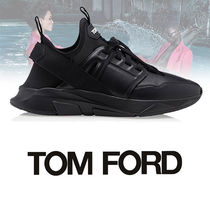 TOM FORD Street Style Plain Leather Sneakers
