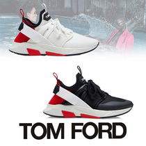 TOM FORD Street Style Bi-color PVC Clothing Sneakers