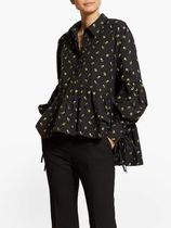 CECILIE BAHNSEN Flower Patterns Casual Style Street Style Long Sleeves