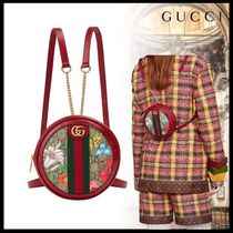 GUCCI Ophidia Flower Patterns Casual Style 2WAY Party Style Elegant Style
