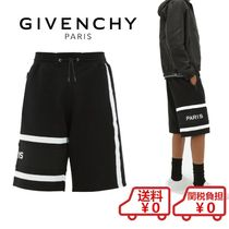 GIVENCHY Slax Pants Cotton Joggers Shorts