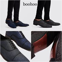 boohoo Loafers Blended Fabrics Plain Home Party Ideas