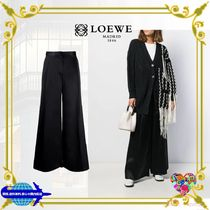LOEWE Casual Style Plain Long Party Style Office Style