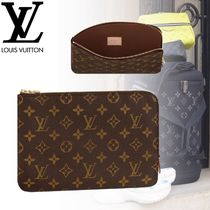 Louis Vuitton MONOGRAM Monogram Unisex Canvas Street Style Bag in Bag Leather