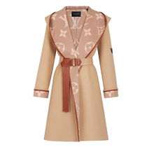 Louis Vuitton Hooded Wrap Coat