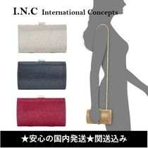 INC International Concepts 2WAY Plain Party Style Elegant Style Crossbody Party Bags
