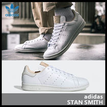 adidas STAN SMITH Casual Style Street Style Leather Low-Top Sneakers