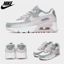 Nike AIR MAX 90 Unisex Street Style Kids Girl Sneakers