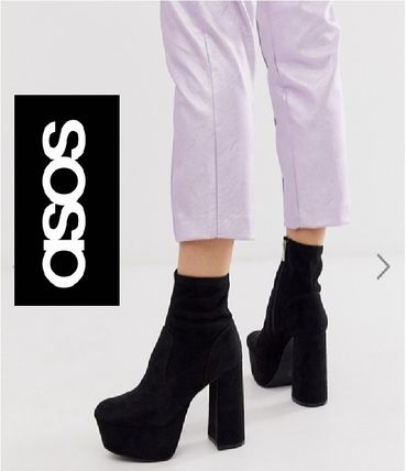 ASOS Ankle & Booties Plain Ankle & Booties Boots