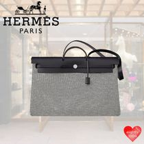 HERMES Casual Style Street Style Bag in Bag 2WAY Leather