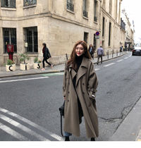 Casual Style Plain Long Party Style Office Style Coats