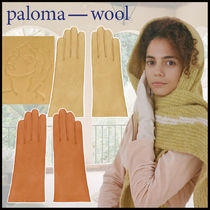 Paloma Wool Plain Leather Leather & Faux Leather Gloves