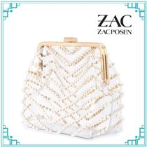 Zac Posen Casual Style Plain Party Style PVC Clothing Office Style