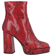 Naked Wolfe Other Plaid Patterns Leather Logo Boots Boots