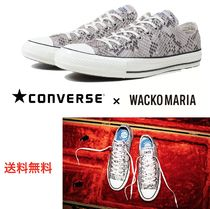 CONVERSE ALL STAR Unisex Faux Fur Blended Fabrics Street Style Collaboration