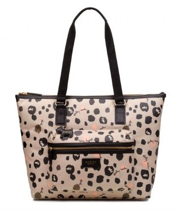 Casual Style Office Style Elegant Style Totes