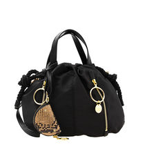 See by Chloe Casual Style Plain Python Shoulder Bags