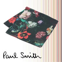 Paul Smith Flower Patterns Cotton Handkerchief