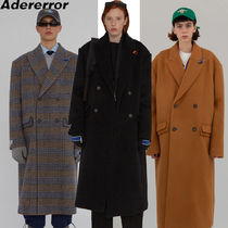 ADERERROR Casual Style Unisex Wool Street Style Long Party Style