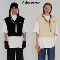 ADERERROR Casual Style Unisex Wool Street Style Vests